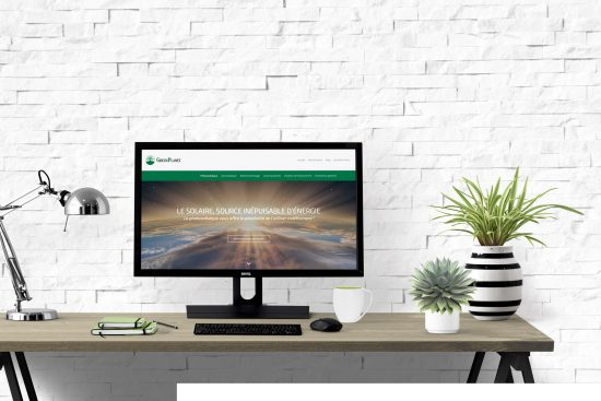 GreenPlanet- Site Web Energie Renouvelable